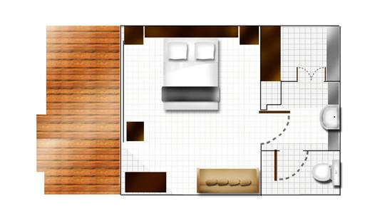 Titre Plan D 39 Une Chambre Club Au Club Med Kani