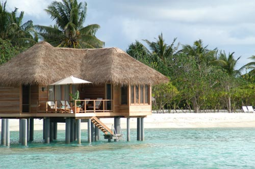 titre bungalow pilotis au sheraton full moon resort spa. Black Bedroom Furniture Sets. Home Design Ideas