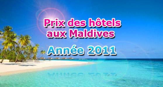 Prix des h tels aux maldives en 2011 voyage maldives for Prix de hotel
